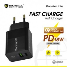 Fast Charge QC 3.0 Wall Charger Type-C PD 18W